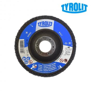 Disco de láminas 27cla 115x22,23 za40q-b  tyrolit