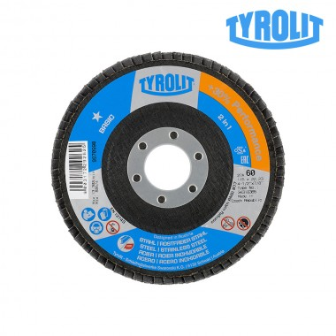 Disco de láminas 27cla 115x22,23 za60q-b tyrolit