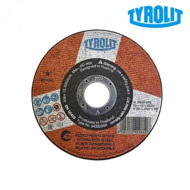 Disco de corte plano 41c 115x1x22,23 a60r-bfb  tyrolit