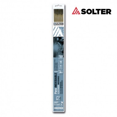 Electrodo inox e316l 2,5mm blister 10ud solter