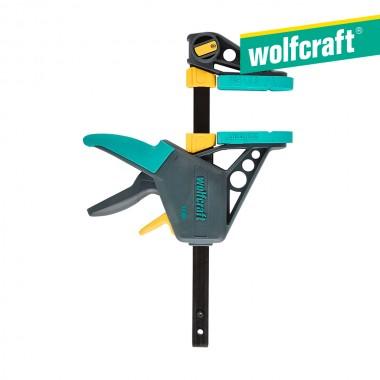 """Sargento monomanual 1"""" ehz pro 100-150"""",  100 mm largo 3030000 wolfcraft"""