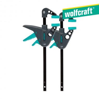 """Sargento monomanual 2"""" ehz 40-110"""" 40 mm largo 3455100 wolfcraft"""