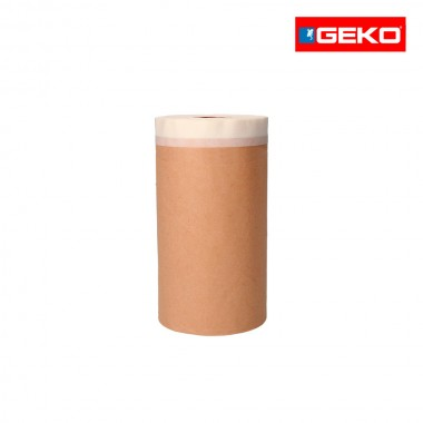 Papel con cinta adhesiva10cmx20mts