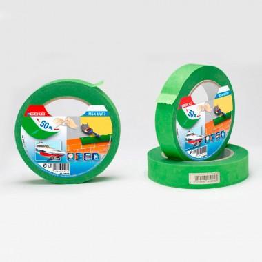 *ult. unidades* cinta masking verde  19mmx50mts resistente uv para uso exterior