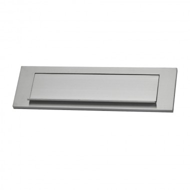 Placa buzon aluminio