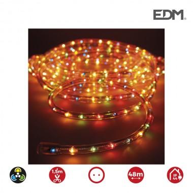 *ult. unidades* tubo flexilux multicolor  2 vias multifuncion (interior-exterior) edm   euro/mts