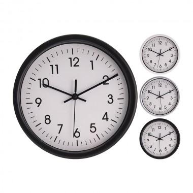 Reloj de pared redondo fondo blanco ø20cm x4cm