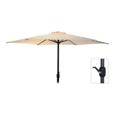 Parasol 300cm  color crema