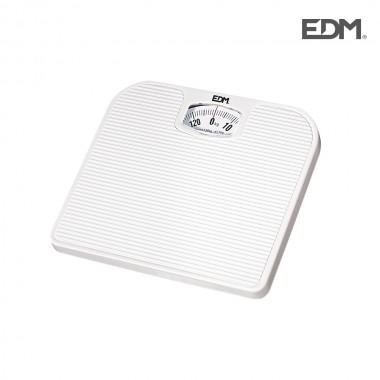 Bascula de baño mecanica max. 130kg edm