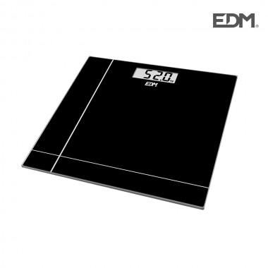 Bascula negra max 180kg edm