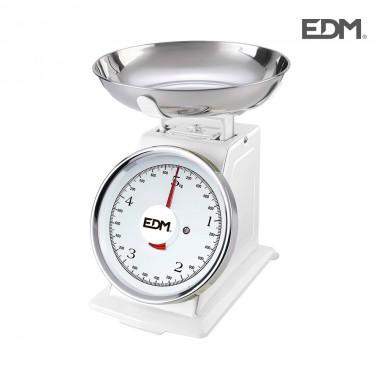 Bascula mecanica cocina max 5kg edm