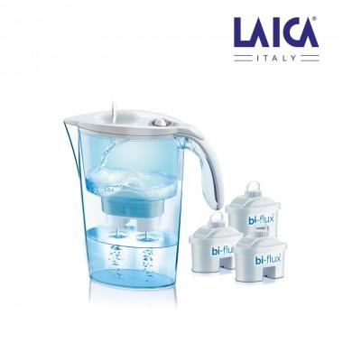 S.of    kit jarra laica stream 2,3l   blanca + 3 filtros bi-flux j9047ws