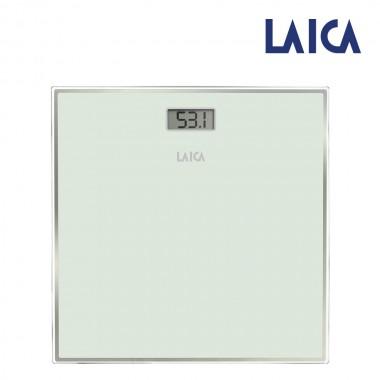 Bascula electronica para baño color blanca máx.150kg ps1068w laica