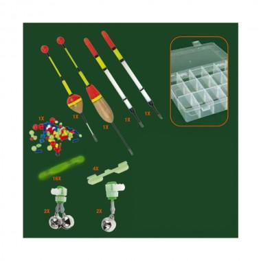 *ult. unidades* kit para pesca nocturna 29 piezas