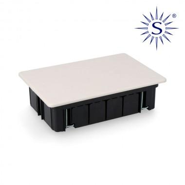 Caja empotrar 164x106 x47mm garra metalica para tabique hueco solera