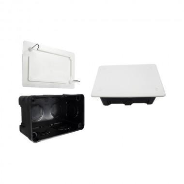 Caja rectangular 20x130x60mm garra metalica retractilado solera