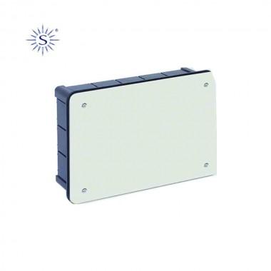 Caja rectangular 300x200x60mm con tornillos retractilado solera
