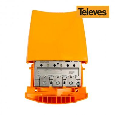 Amplificador de antena para mastil de exterior