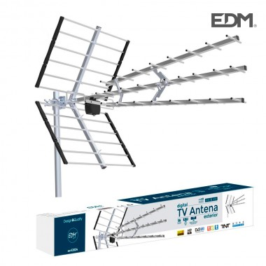 Antena uhf exterior tv 470-694mhz edm