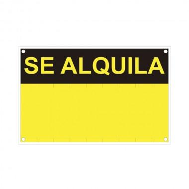 Se alquila (pvc 0.4mm) 45x70cm