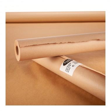 Papel basic hidrofugo 50gr/m² marron 0,9x25mts