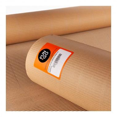Carton ecologico  marron 0,9x5mts