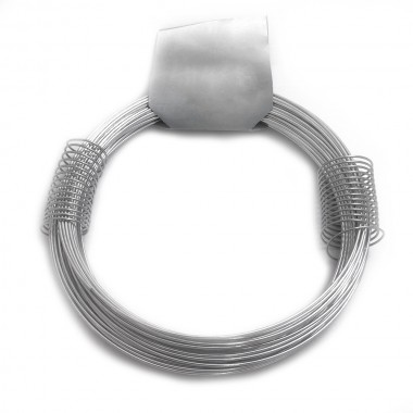 Alambre zincado nº 8 - 1,30mmx20m - 200gr