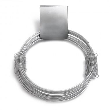 Alambre zincado nº 10 - 1,50mmx15m - 205gr
