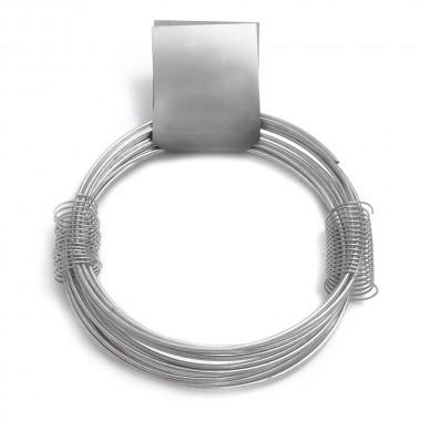 Alambre zincado nº 12 - 1,80mmx11m - 210gr
