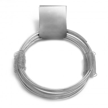 Alambre zincado nº 15 - 2,50mmx6m - 210gr