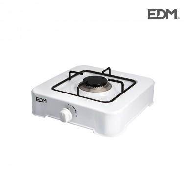 Cocina de gas - esmaltada - 1 fuego - edm