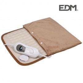 Almohadilla electrica doble - 100w - con funda - 40x50cm - edm