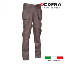 Pantalón de trabajo zimbabwe antracita (corresp. l) cofra