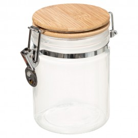 Bote cristal 0,75lt blanco col.'blanc kitchen'