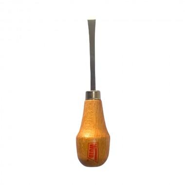 Gubia mango bola modelo 116 a. gubia recta ancho 8mm espesor 1,5mm con mango bola. wuto