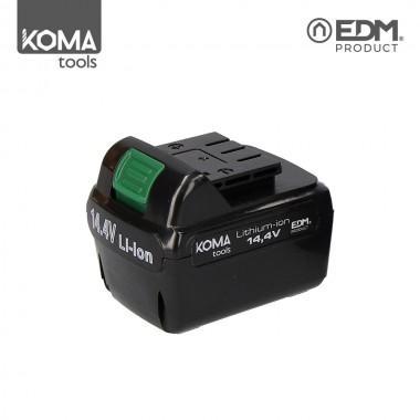 Bateria recambio - lithium-ion - 14,4v para taladro/atornillador ref: 08703