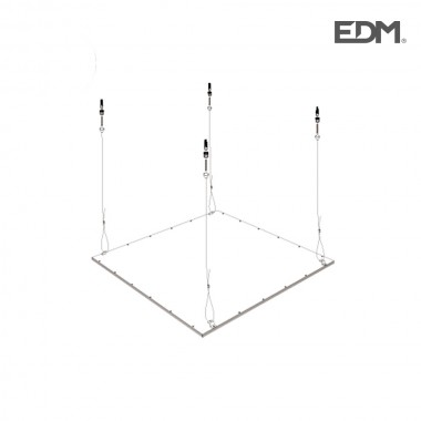 Kit para suspension (colgante) panel led edm
