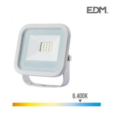 Foco proyector led 10w 700 lm 6400k luz fria edm