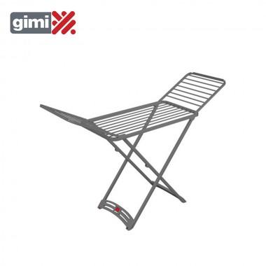 Tendedero grafite gris (100% resina) 182x55x88cm gimi 153491