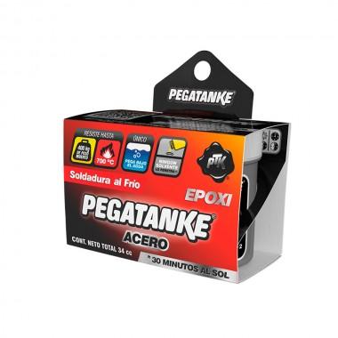 Pegatanke epoxico acero negro 32ml