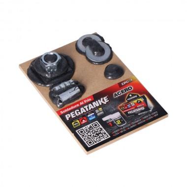 Tabla muestrario pegatanke acero negro gratis por la compra de 2 unidades 96483