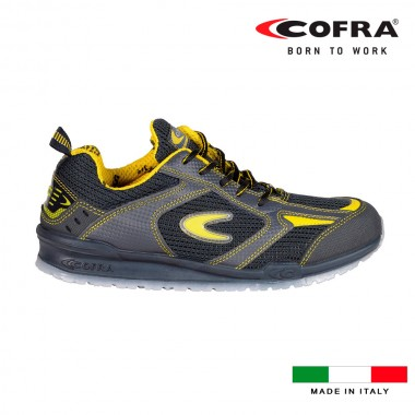 Zapatos de seguridad cofra carnera s1 talla 44