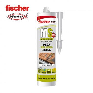 Ms sellante adhesivo plus blanco 546184 fischer 290ml