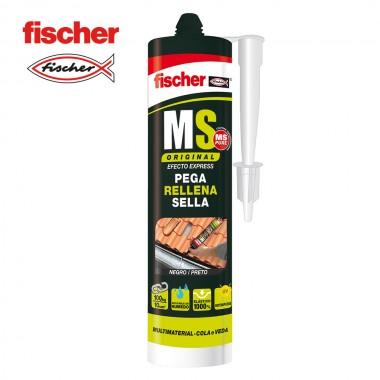 Ms sellante adhesivo negro 546187 fischer 290ml