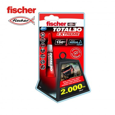 Blister total 30 extreme - 5g 541727 fischer