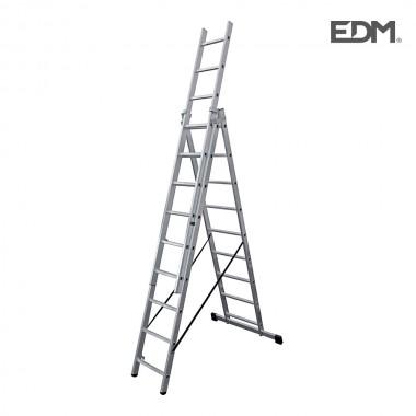 Base superficie telefono salida frontal retractilado edm